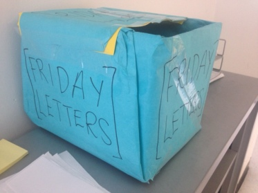 Friday Letter Box